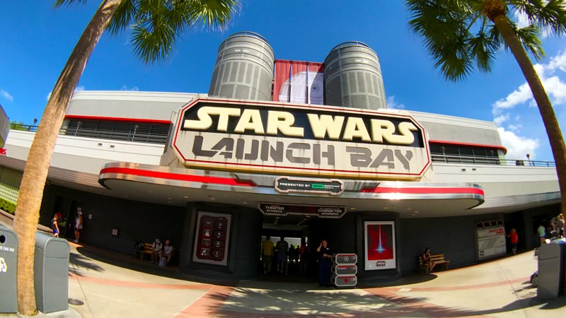 Star Wars launch bay hollywood studios