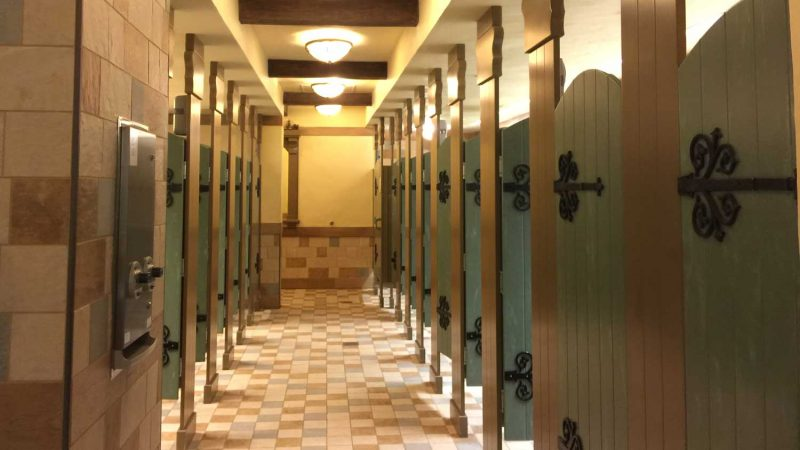 The best bathrooms at disney world wdw vacation tips for Coolest bathrooms in the world
