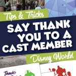 How to thank a disney cast member