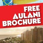 Free Aulani Brochure