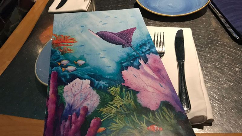 Coral Reef Menu Epcot