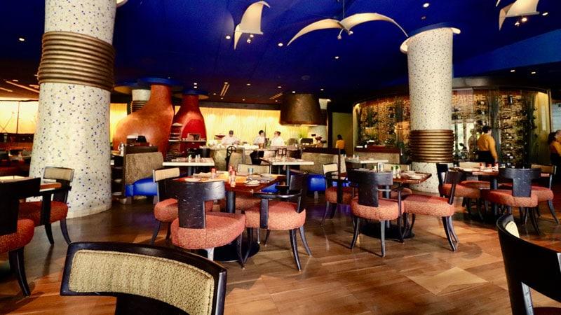 Inside Jiko Restaurant