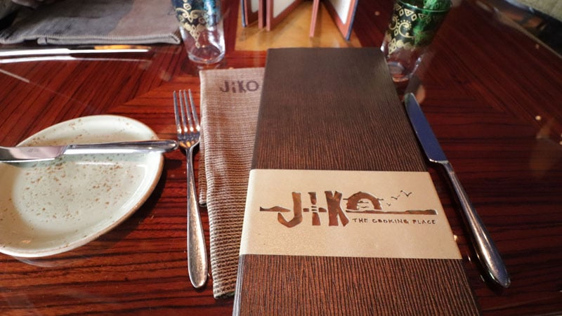 Jiko Menu at Animal Kingdom Lodge