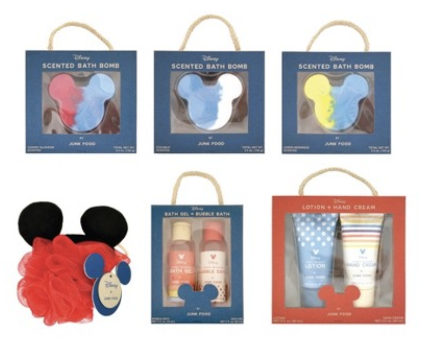 Disney Target bath items