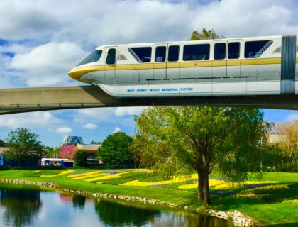 Monorail Yellow Disney World