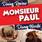 Monsieur Paul dining review