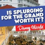 Splurging for the Grand Floridian