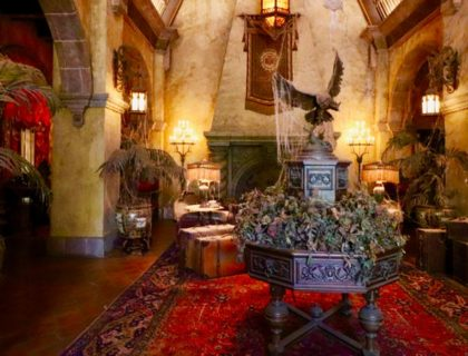 Inside Tower of Terror Disney World