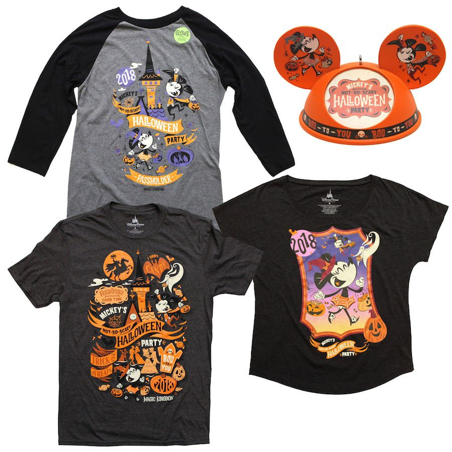 2018 Mickeys Not So Scary Halloween Party Shirts