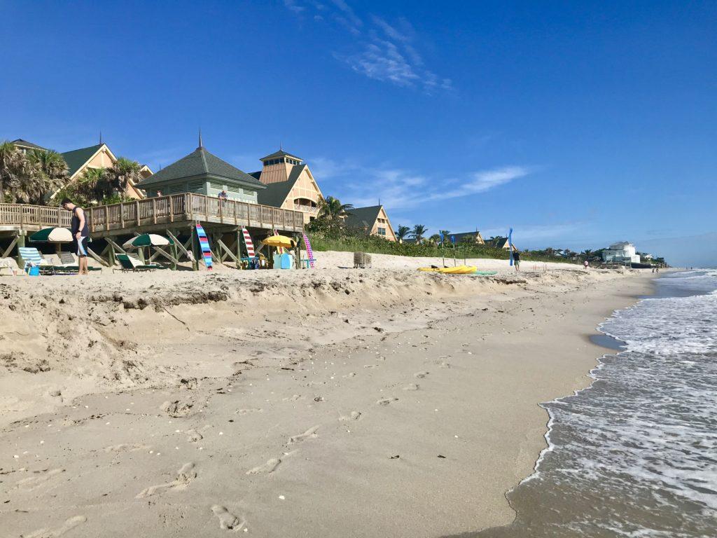 Beach at Disney DVC Vero Beach