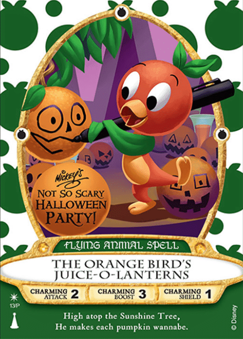 Orange Bird Sorcerers of the Magic Kingdom
