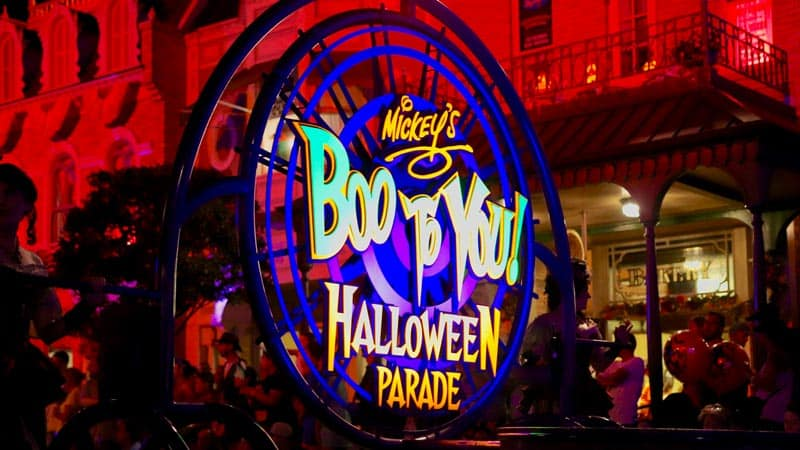 Boo To You Halloween Parade