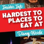 Difficult to get Disney Dining Reservation