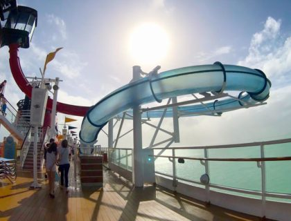 Disney Magic Waterslide