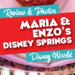 Maria and Enzo dining review