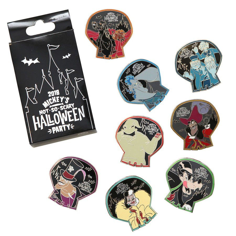 Mickeys No So Scary Halloween Party Pins