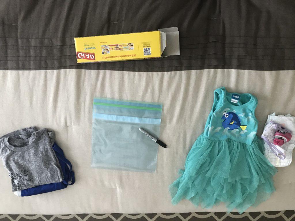 Disney packing for kids