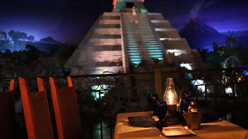 view at San Angel Inn Epcot