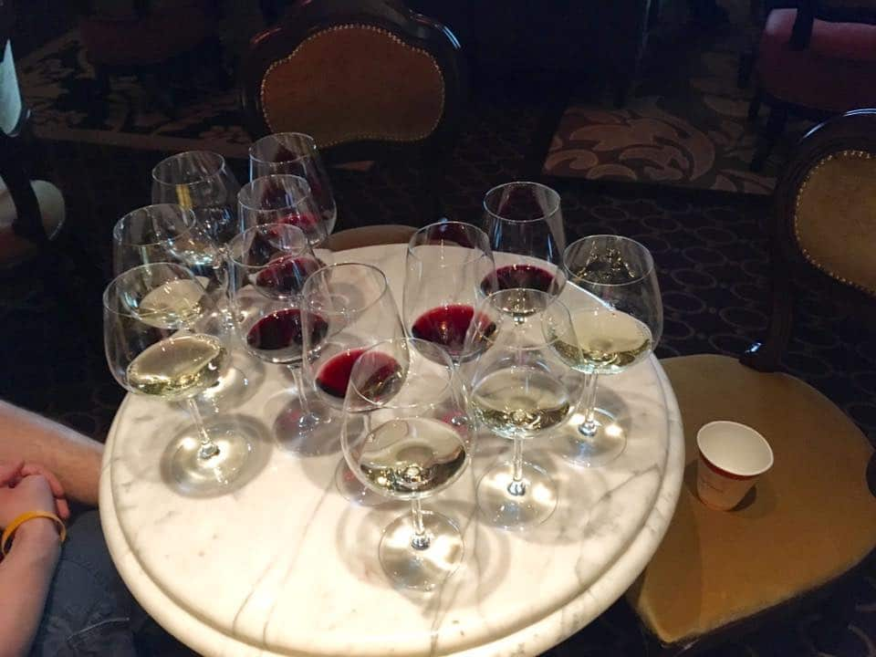 Disney Cruise Wine Tasting