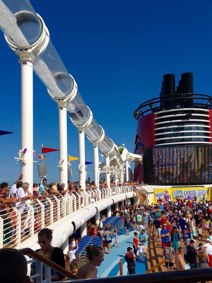 Sailiing Away Party disney cruise