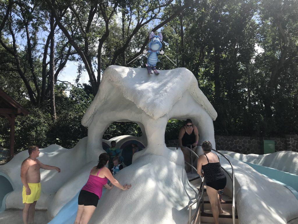 Kids Bizzard Beach Slide