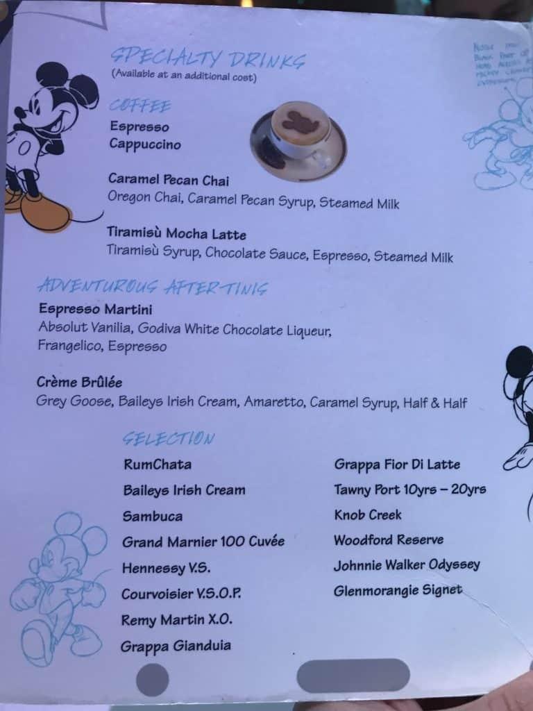 Disney Cruise Line Rotational Dining Aboard the Disney Fantasy 11