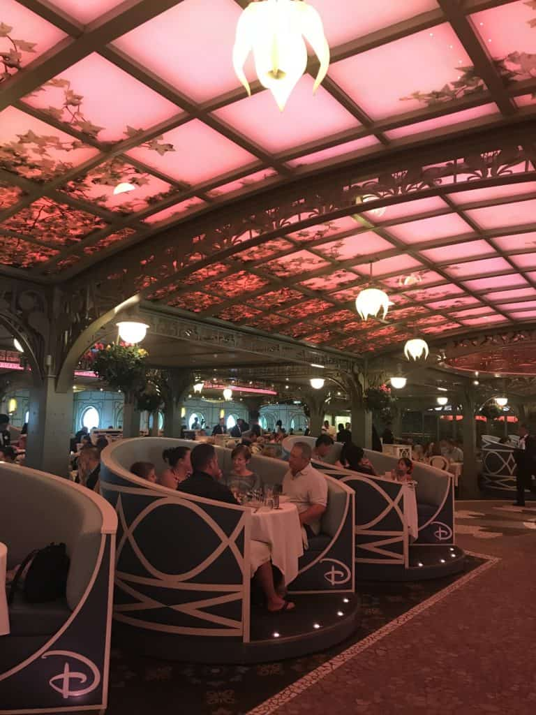 Disney Cruise Line Rotational Dining Aboard the Disney Fantasy 80