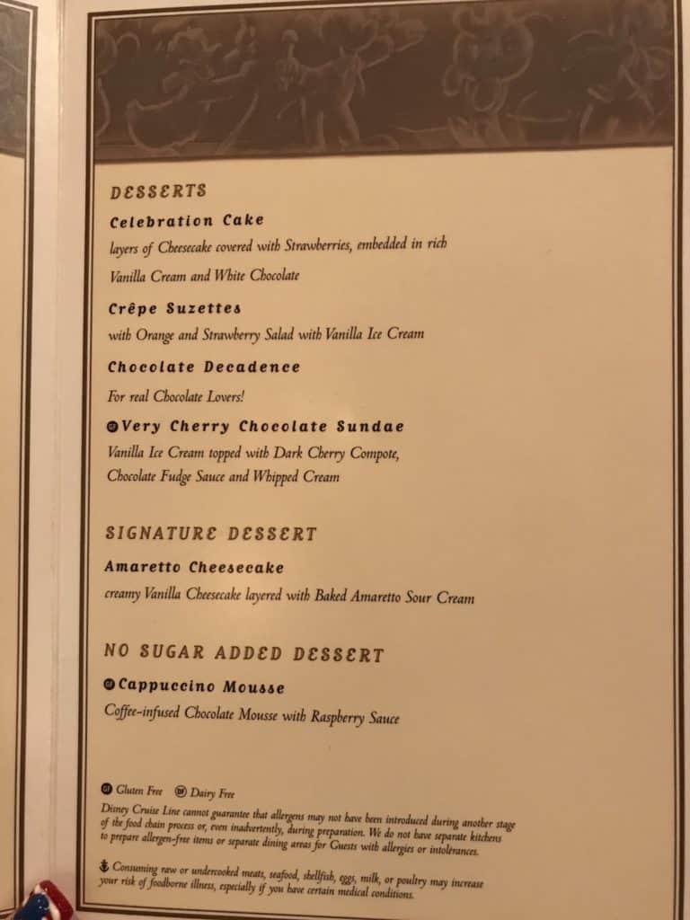 Disney Cruise Line Rotational Dining Aboard the Disney Fantasy 59