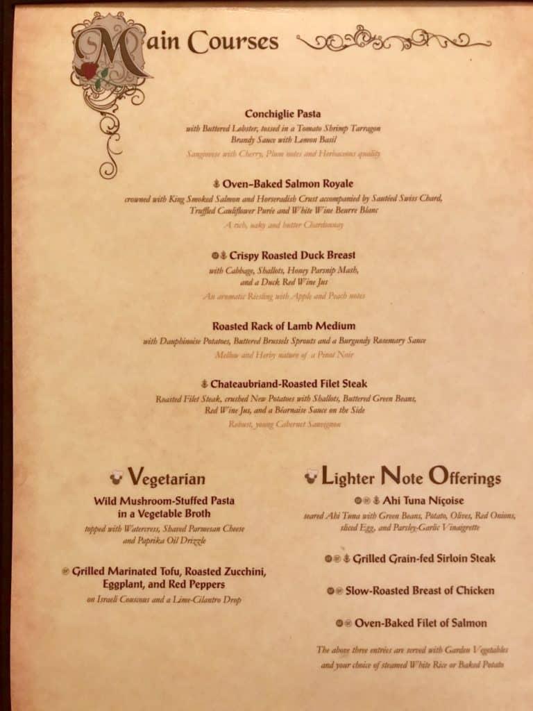 Disney Cruise Line Rotational Dining Aboard the Disney Fantasy 43