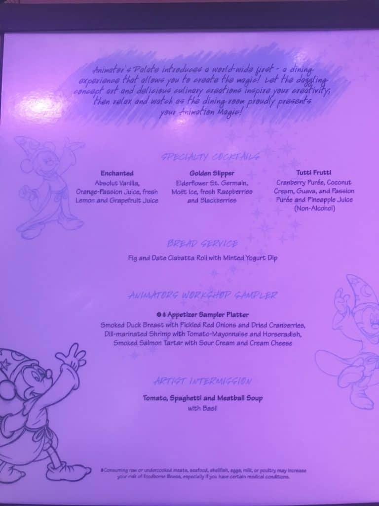 Disney Cruise Line Rotational Dining Aboard the Disney Fantasy 26