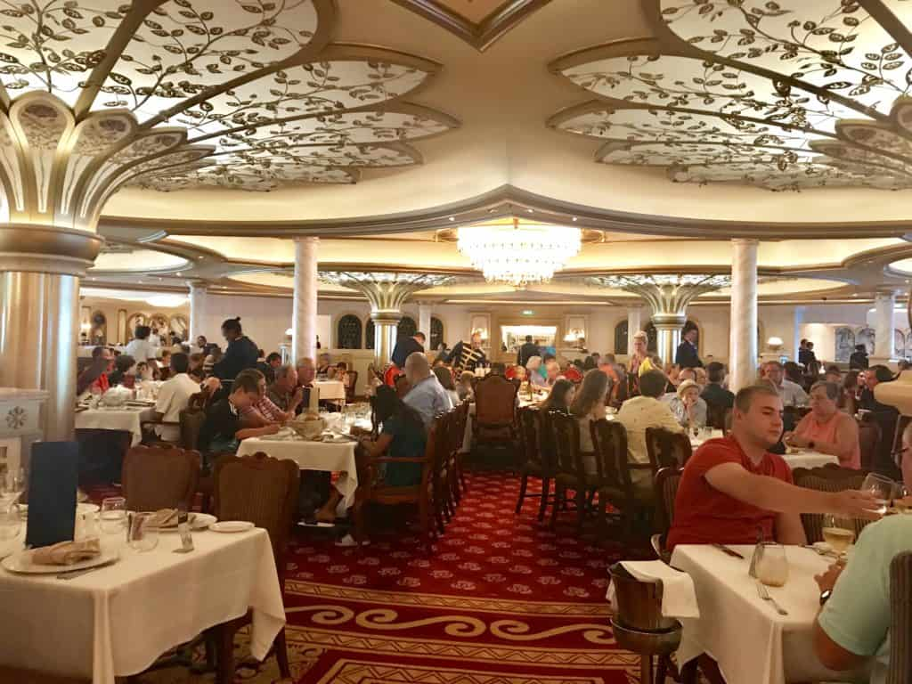 Disney Cruise Line Rotational Dining Aboard the Disney Fantasy 41