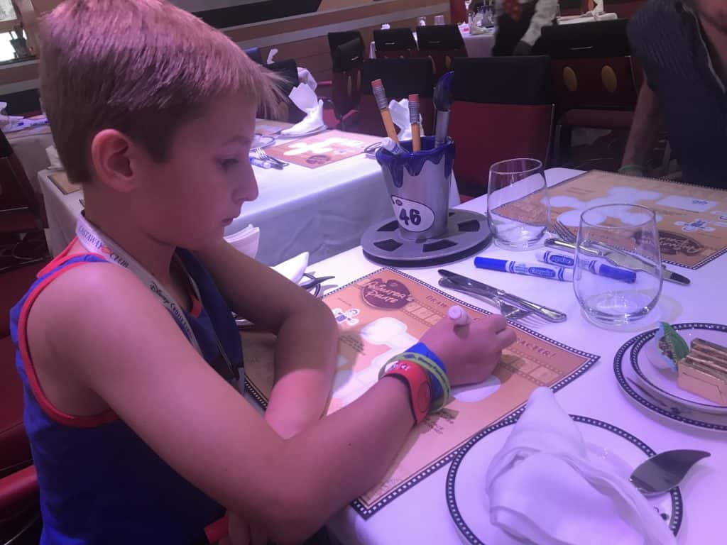 Disney Cruise Line Rotational Dining Aboard the Disney Fantasy 29