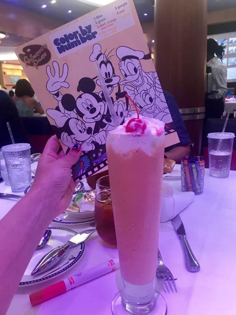 Disney Cruise Line Rotational Dining Aboard the Disney Fantasy 31
