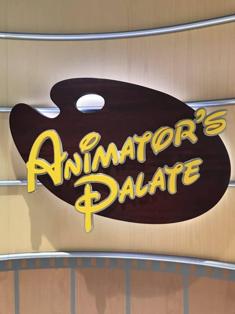 Disney Cruise Line Rotational Dining Aboard the Disney Fantasy 7