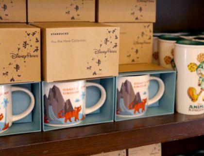 Animal Kingdom Starbucks Cups