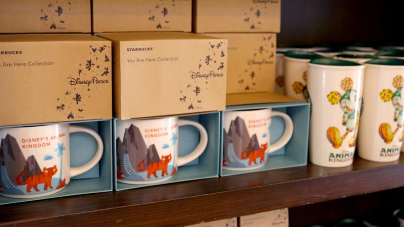 Animal Kingdom Starbucks Cups