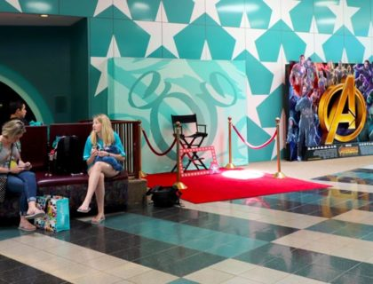 Lobby at All Star Movies