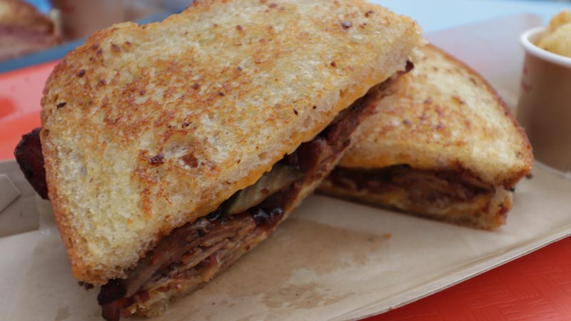 BBQ Brisket Melt Woody's Lunch Box
