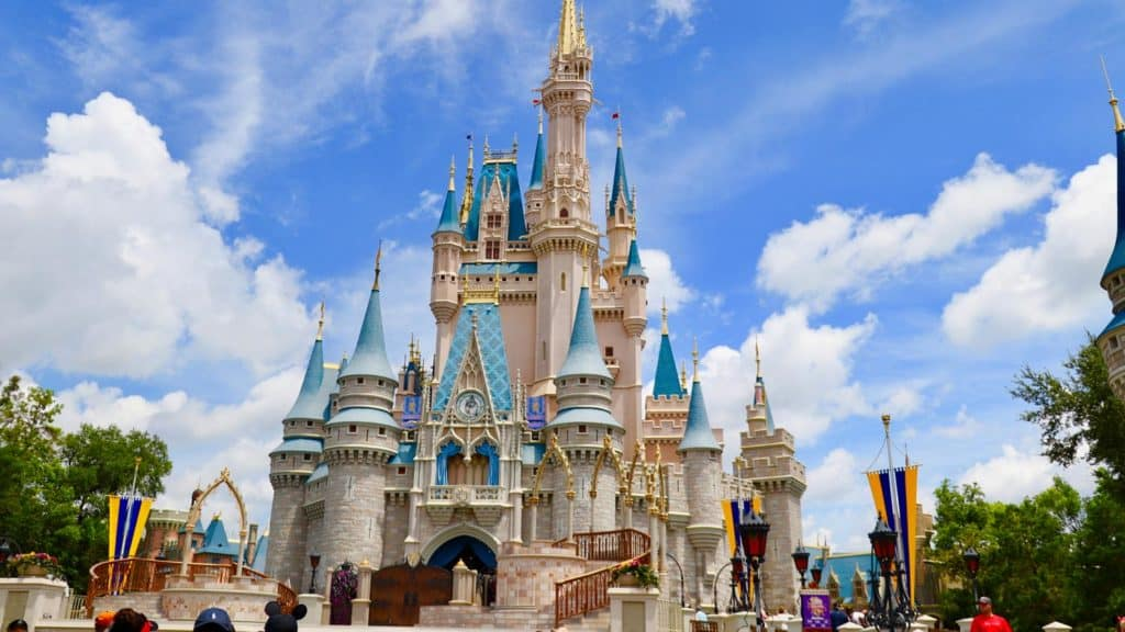A Look at Cinderella's Castle at Disney World Over the Years 3
