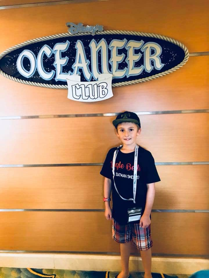 Disney Cruise Oceaneer Club