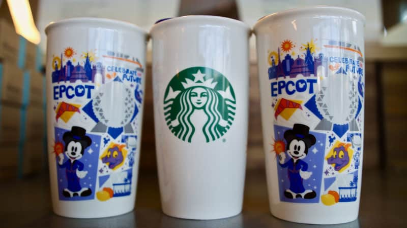 A Closer Look at Disney World Starbucks Cups 2
