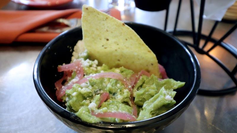 Guacamole at Maya Grill