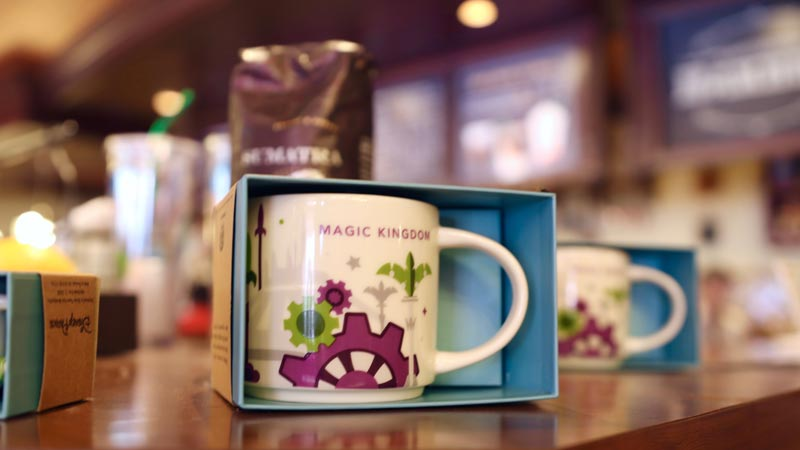 Magic Kingdom Starbucks Coffee Cup