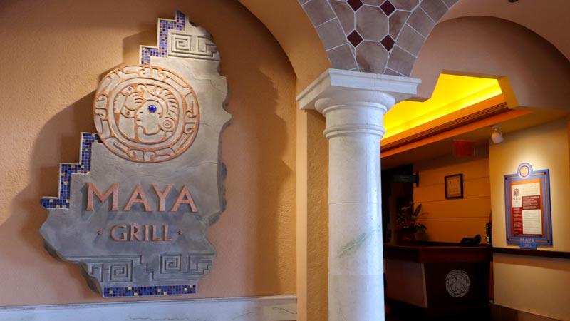 Outside Maya Grill