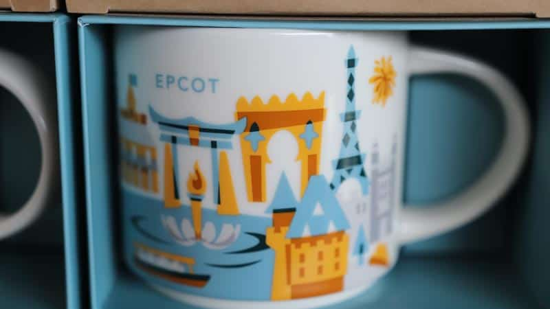 Epcot Starbucks Cup