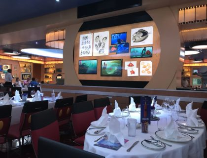 Disney Cruise Line Rotational Dining Aboard the Disney Fantasy 3