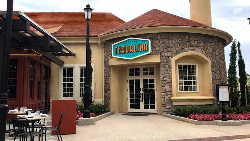 Front of Terralina Crafted Italian