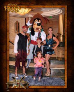 Disney Cruiseline Pirate Night on the Disney Fantasy 1