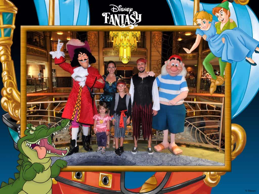 Pirate Night on Disney Cruiseline