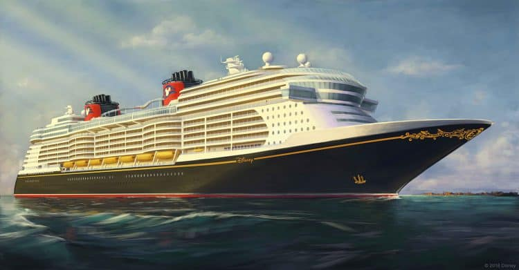 New Disney Cruiseline Ship